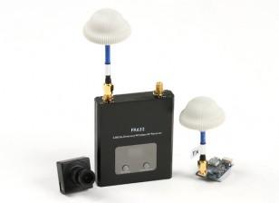 Quanum FPV Bundle Set con 600TVL fotocamera, trasmettitore 600mW e 40CH Diversity Receiver