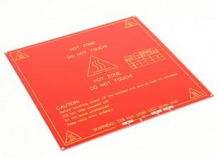 Hot Plate stampante 3D MK2 Dual Power RepRap Mendel e rampe compatibili