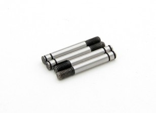 Trackstar temprato Shock Shaft 3.2x 24 millimetri (4) S122024