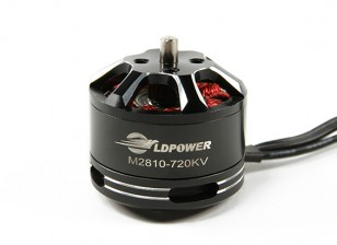 LDPOWER M2810-720KV Brushless Multicopter motore (CW)