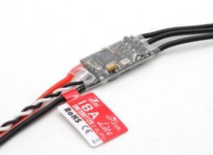 ZTW Spider Serie 18A OPTO multi-rotore ESC 2 ~ 4S (BLHeli / SimonK Firmware)