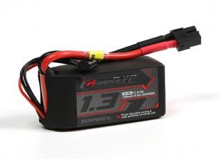 Turnigy grafene 1300mAh 3S 65C LiPo pacchetto w / XT60