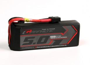 Turnigy grafene 5000mAh 3S 45C LiPo pacchetto w / XT90