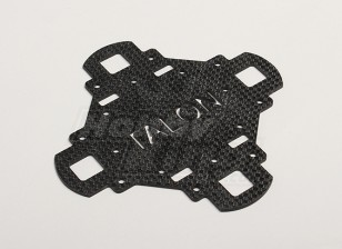 Turnigy Talon Carbon Fiber Main Frame piastra superiore (1pc / bag)
