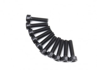 Metallo esagono macchina esagonale Vite M4x16-10pcs / set