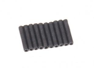 Metallo Grub vite M2x10-10pcs / set