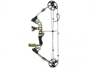 """M120 sogno 20 ~ 70lbs 30 """"Compound Bow R / H Camouflaged"""