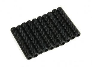 Metallo Grub vite M5x30-10pcs / set