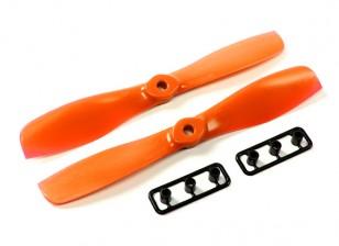 coppie GemFan 5550-Bullnose uno (CW e CCW) Arancione