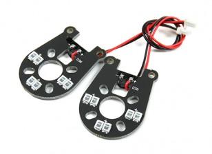 Jumper 260 In più luci LED Assy (Red) (2 pezzi)