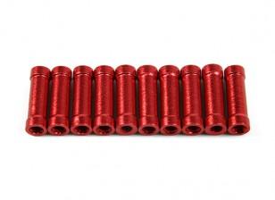 Jumper 218 distanziatori in alluminio Pro CNC (rosso) (10pcs)