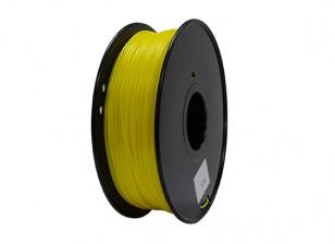 Dipartimento Funzione 3D filamento stampante 1,75 millimetri PLA 1KG spool (giallo)