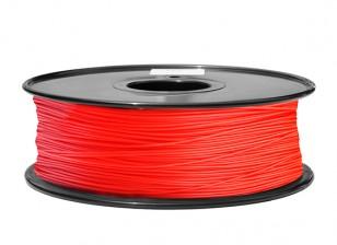 Dipartimento Funzione 3D filamento stampante 1,75 millimetri PLA 1KG spool (Red)