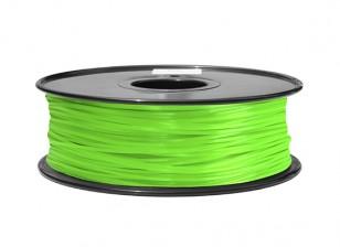 Dipartimento Funzione 3D filamento stampante 1,75 millimetri ABS 1KG spool (verde)