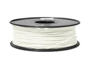 Dipartimento Funzione 3D filamento stampante 1,75 millimetri ABS 1KG Spool (Glow in the Dark - Verde)