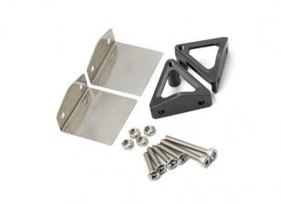 correttori di assetto in acciaio inox e alluminio basamento in lega di serie di CNC