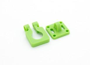 Obiettivo Diatone Montaggio telecamera orientabile per Miniature telecamere (verde)