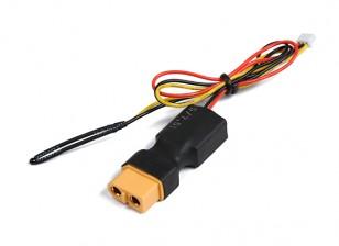 XT60 linea Flight pack di tensione e sensore di temperatura per il sistema di telemetria OrangeRx.