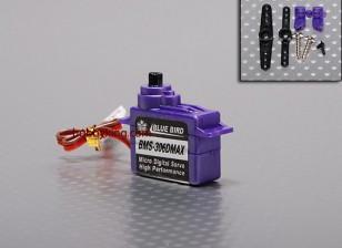 BMS-306DMAX digitale micro servo (Extra Strong) 1,6 kg / .13sec / 7.1g