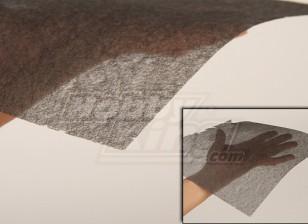 In fibra di carbonio del tessuto (Fine 10 g / m2) 1mtr