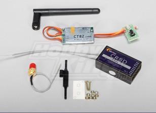 Corona 2.4Ghz fai da te modulo e RX (DSSS)