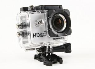 Camera Turnigy HD WiFi ActionCam 1080P Full HD Video w / Custodia impermeabile