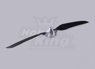 Pieghevole Elica W / Lega Hub 50 millimetri / 5mm 15.5x9.5 Shaft (1pc)