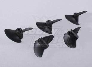 2-Blade barche Eliche 40x45mm (5pcs / bag)