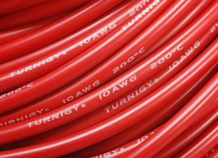 Turnigy Pure-silicone filo 10AWG 1m (Red)