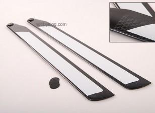 600 millimetri in fibra di carbonio TIG Z-tessuto principale Blades