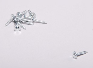 Autofilettante Vite M2x12mm Phillips testa w / spalla (10pcs)