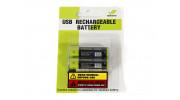 Znter 1.5V 1700mAh USB Rechargeable AA LiPoly Battery (2pcs) 3