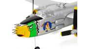 """H-King Micro B-25J Mitchell """"Lady Lil"""" Gunship 550mm (21.6"""") PNF - nose"""
