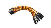 10cm Twisted Servo Lead Extension (JR) 22AWG (5pcs/bag)