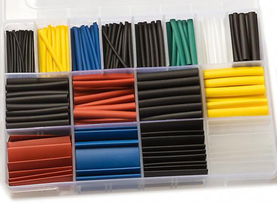 Heat Shrink Tubing Tube Kit (580pcs)