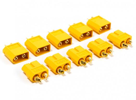 Nylon XT60 Connectors Male/Female (5 pairs/bag) GENUINE