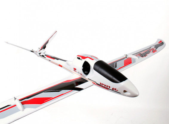 Durafly ™ Zephyr V-70 High Performance 70mm EDF V-Tail Glider 1533mm (ПНФ)