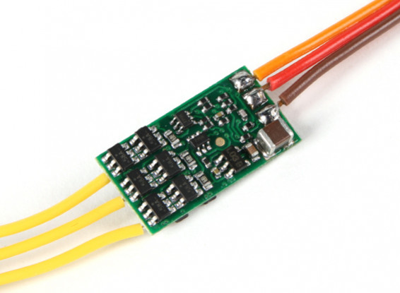 Hobbyking YEP 7A (1 ~ 2S) Бесщеточный контроллер скорости
