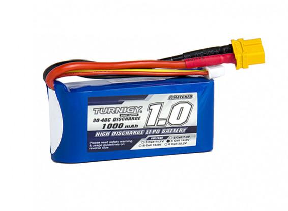 Turnigy 1000mAh 4S 30C Lipo обновления
