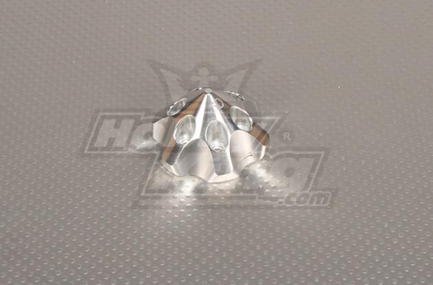 CNC 3D Spinner Medium Silver