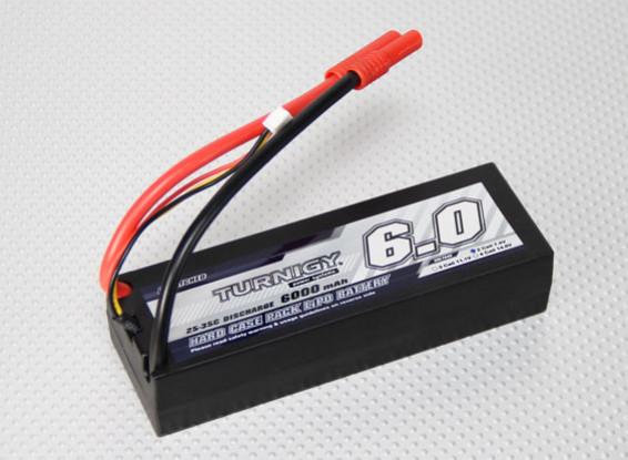 Turnigy 6000mAh 2S2P 7.4V 25C Hardcase пакет