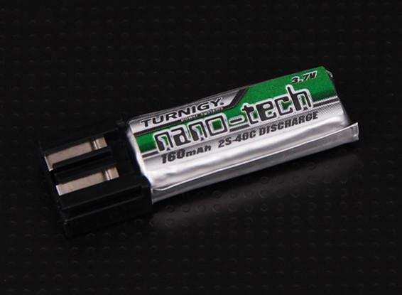 Turnigy нано-технологий 160mAh 1S 25 ~ 40C Lipo Pack (Подходит для Align Trex 100)
