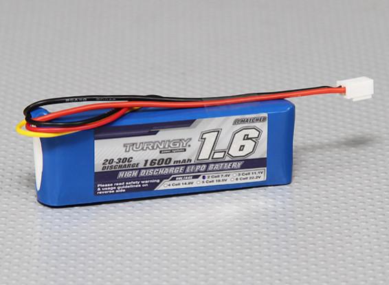 Turnigy 1600mAh 2S 20C Lipo Pack (Losi Мини-совместимый)