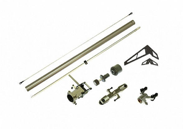 GAUI 425 CNC Крутящий момент пакет обновления трубка хвост (для 425мм Blade)