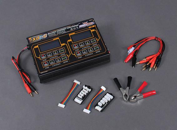 HobbyKing ™ XD-6 Баланс зарядное Plus Аксессуары 240W (4 X 60W)