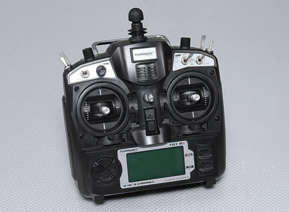 Turnigy 9X 9CH передатчик без модуля (Mode 2) (v2 Firmware)