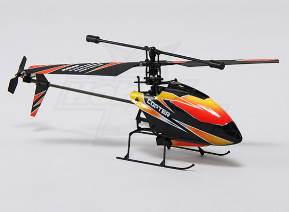Вертолет Режим 1 (RTF) Hobbyking FP100 2.4Ghz 4CH Micro
