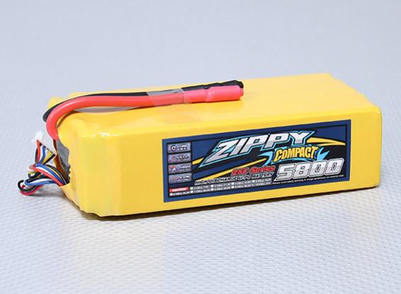 ZIPPY Компактный 5800mAh 10S 25C Lipo обновления