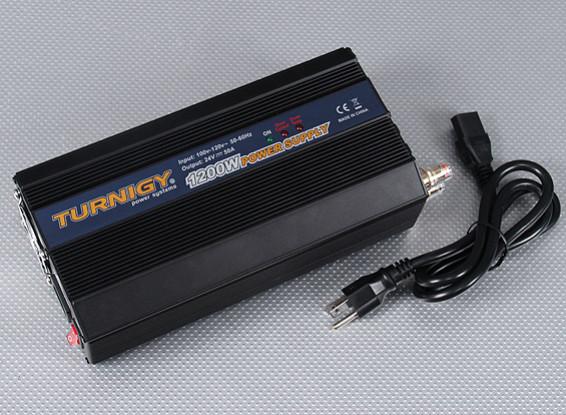 Turnigy 1200W 100 ~ 120V блок питания (24 В постоянного тока - 50amp)