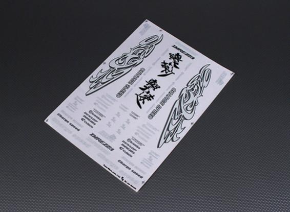 Самоклеющиеся Decal Sheet - Charge Speed 1/10 Масштаб